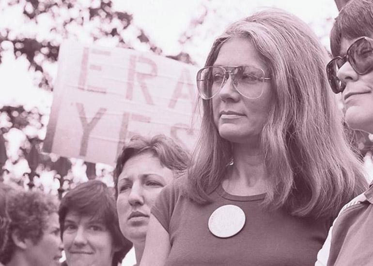 Gloria Steinem © Scott Applewhite